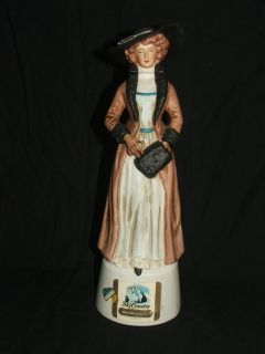 Vintage Whiskey Decanter by Ski Country Foss Co. Ladies of Leadville