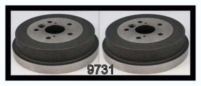 Sell P9731 Brake Drums - Set of 2!! motorcycle in Cadillac, Michigan, US, for US $66.02