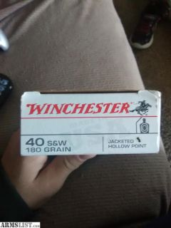 For Sale/Trade: 50rds of .40 cal JHP for sale