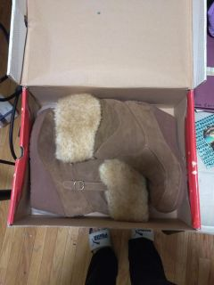 Bear paw boots