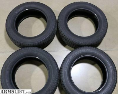 """For Sale/Trade: 4) NEW take-off GMC 20"""" Tires (Goodyear Wrangler 275/55/20)"""