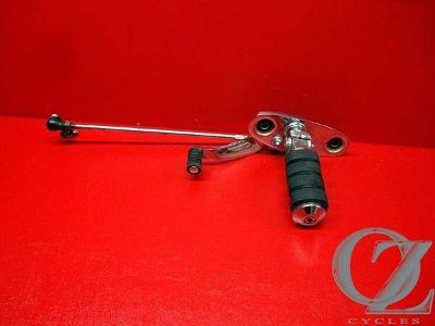 Purchase LEFT RIDER PEG ASSEMBLY & SHIFTER REARSET VT600 VT 600 VLX HONDA SHADOW 01 J motorcycle in Ormond Beach, Florida, US, for US $32.95