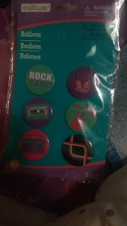 Cute buttons for backpack