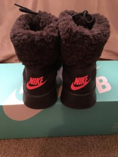 Nike brown shoes