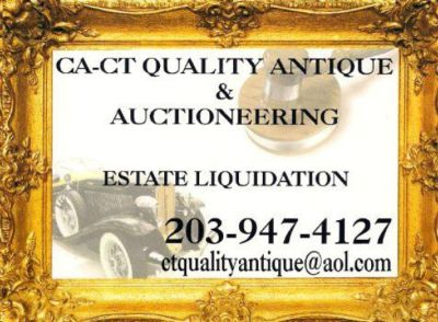 ANTIQUE AUCTIONS and ESTATE SALES