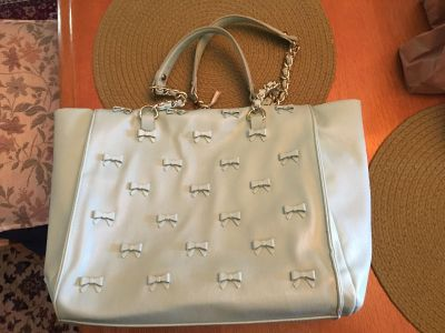 Betsey Johnson tote/laptop bag/purse