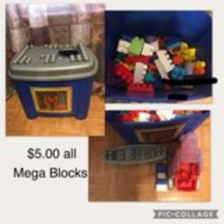 Mega-Blocks Kids Toys Large Legos