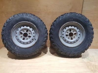 Purchase KODIAK 400 FRONT WHEELS RIMS TIRES motorcycle in Aurora, Illinois, United States, for US $27.70