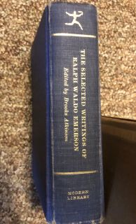 The Selected Writings of Ralph Waldo Emerson