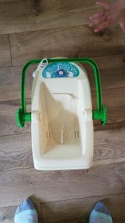 Vintage 1983 Cabbage Patch doll carrier / car seat