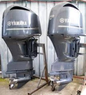 Used Yamaha 350HP 4 Stroke Outboard Motor Engine