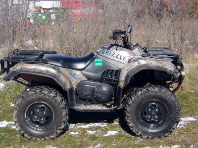 2002 Yamaha Grizzly 660 Utility ATVs Mukwonago, WI
