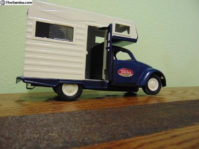 Tonka VW BUGAROO Beetle RV CAMPER Tin Toy
