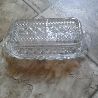 Beautiful Butter Dish, extra wide