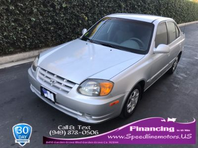 2003 Hyundai Accent GL (Stormy Gray)