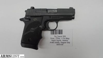For Sale: Sig Sauer 938