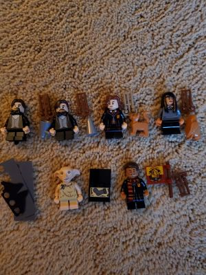 BN Lot of 6 Lego Harry Potter/Crimes of Grindenwald Minifigures $15