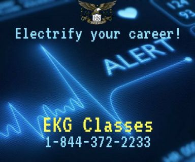 The heart of your education can start with EKG training at E&S Academy!