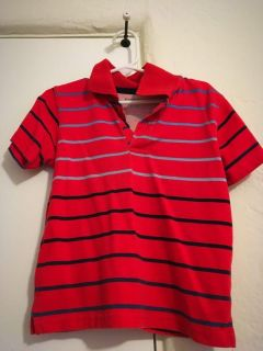 Blue polo shirt size 3t