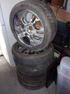 Set of Four 22 Universal Tires