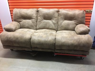 couch, love seat, recliner chair, refrigerator for sale