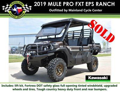 2019 Kawasaki Mule PRO-FXT Ranch Edition