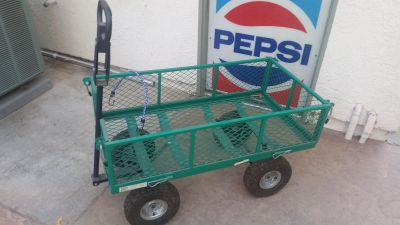 Heavy Duty Collapsible (sides) Utility Cart