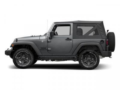 2016 Jeep Wrangler Sport (Granite Crystal Metallic Clearcoat)