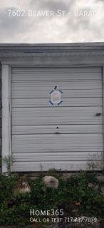Spacious Storage Garage!