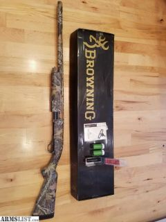 "For Sale: Browning BPS Camo 12 gauge shotgun 26"" barrel 3"" chamber - New Finish"