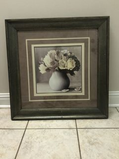 Large floral picture