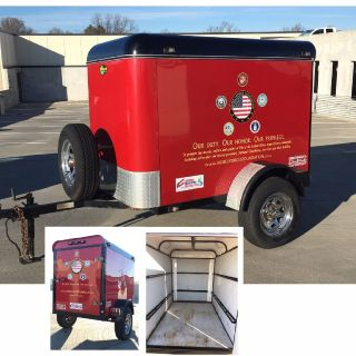 2003 GLADIATOR Enclosed Cargo Trailer Custom Made