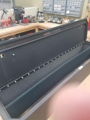 Metal car safe
