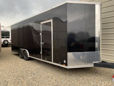 24 Foot Enclosed car trailer