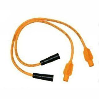 Sell TAYLOR HOT ORANGE 8MM CUSTOM SPARK PLUG WIRE SET HARLEY UNIVERSAL 90 KIT motorcycle in Gambrills, Maryland, US, for US $32.95