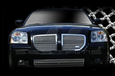 Buy SES Trims TI-MG-121A/B 05-07 Dodge Magnum Billet Grille Mesh Grill Chromed motorcycle in Bowie, Maryland, US, for US $665.85