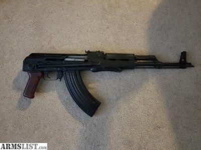 For Sale/Trade: Romanian AK47 underfolder