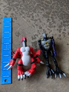 ??? Action figures. As pictured
