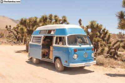 1973 VW Bus SAFARE CUSTOM CAMPER FOR SALE
