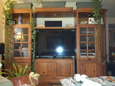 """Entertainment Center for TVs up to 65"""""""