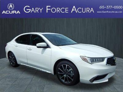 2018 Acura TLX V6 w/Technology Pkg (white)