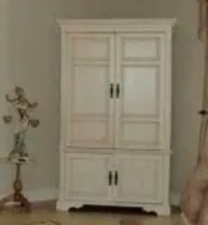 Hutch Large Wood TV Cabinet