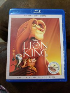 Lion king DVD disc only