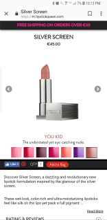 New in Box Lipstick Queen in You Kid