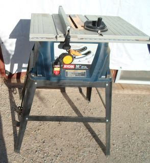 10 inch ryobi table saw with stand