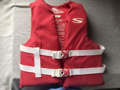 Sterns youth life vest
