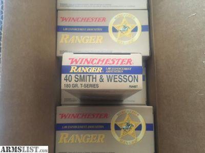 For Sale: RANGER T 40 S&W