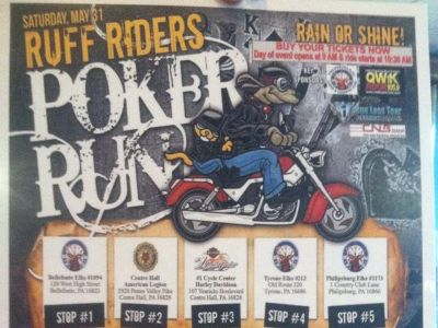 Ruff Rider Poker Run 2014
