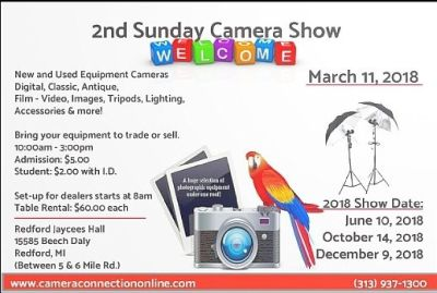 Camera Show (2nd Sunday Camera Show)