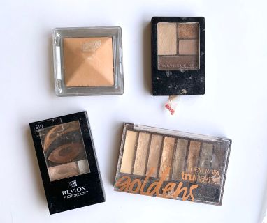 Various Eyeshadow and Bronzer Lot